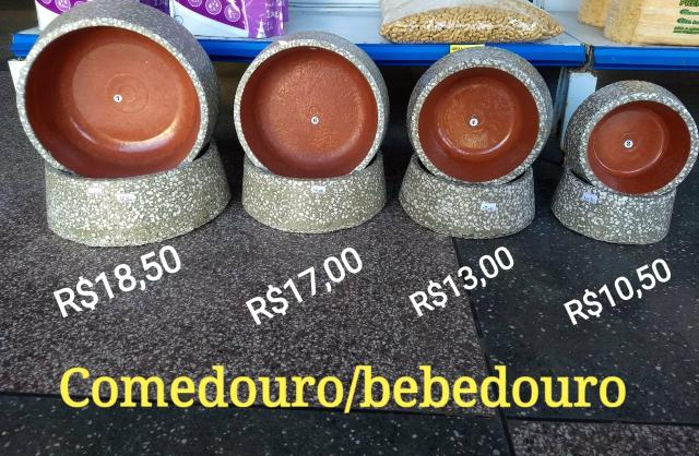 Comedouros Bebedouros Mosaico