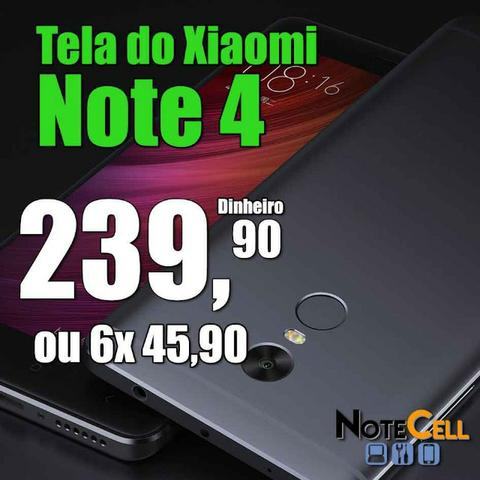 Tela do Xiaomi Redmi Note 4