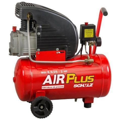 Compressor de Ar Air Plus 1,5HP 22L 120PSI - Usado apenas 1 Vez