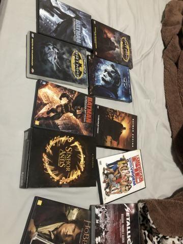 Coleção de dvds barbada