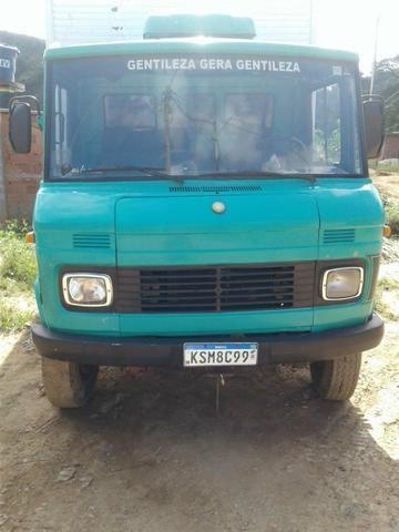 Caminhão bau 608 ano 78 - Foto 7