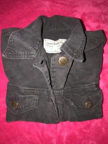 Jaqueta jeans Preto