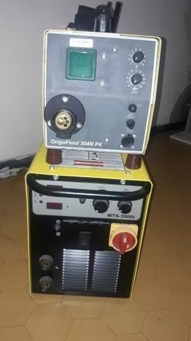 Máquina de Solda ESAB 350 Amperes MIG Multiprocesso (MIG/TIG/ELETRODO) NOVA !!!!