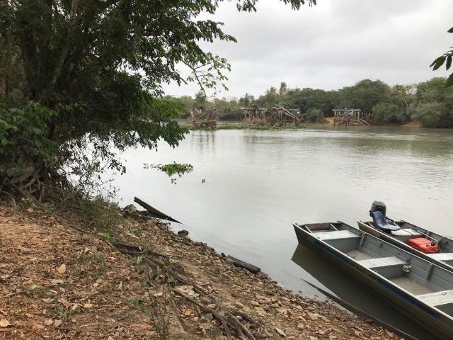 Pesqueiro 3 hectares á venda beira do rio jauru (caceres) - Foto 2