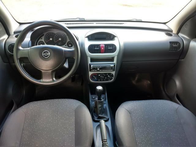 Corsa sedan Premium 1.4 completo 2010 - Foto 3