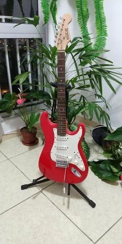 Guitarra, suporte e capa!