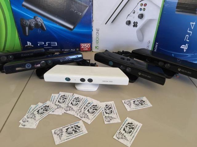 Kinect Original - Xbox 360 Slim - Promoção - Semi Novo - Com Garantia