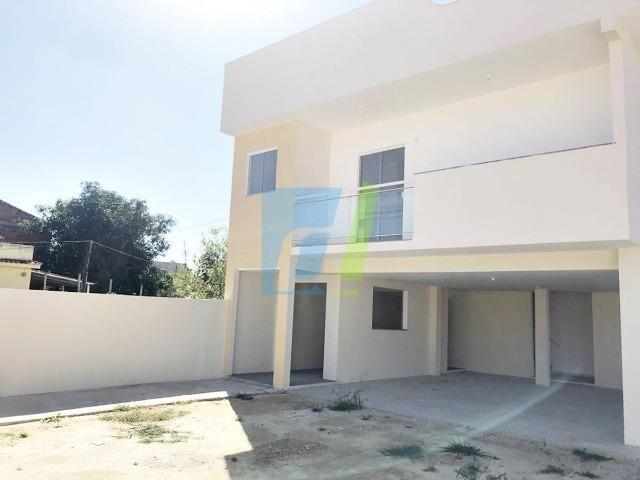 Casa nova, dois quartos com garagem - Foto 2