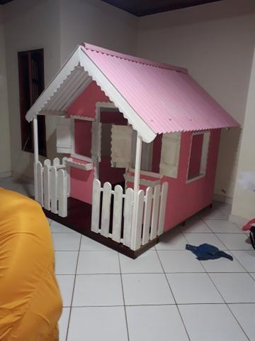 Casinhas em madeira para crianças
