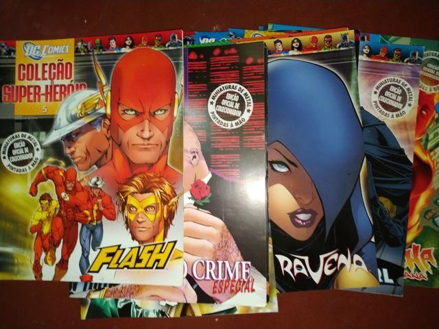 Revistas Eaglemoss marvel e DC