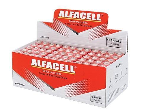 4 Pilhas Novas AA Alfacell por apenas 2 reais - Vendo qualquer quantidade - Foto 4