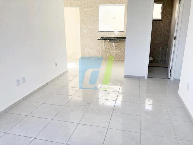 Casa nova, dois quartos com garagem - Foto 4
