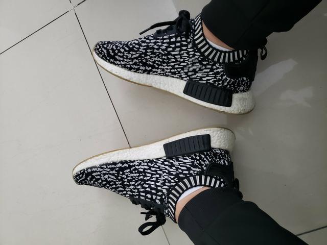 the latest 71b46 38f30 Adidas Nmd R1 41 Pk Sashiko Black Zebra