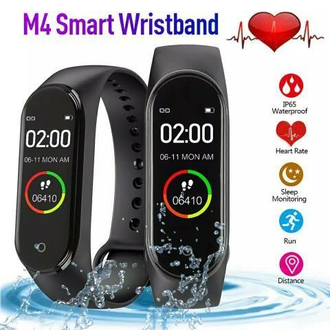 Smartband M4 Lançamento pulseira relógio inteligente fitness smartwatch