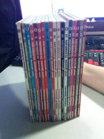 Mangá Neon Genesis Evangelion - Volumes de 1 a 18