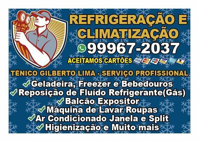 Técnico em Refrigeração e Climatização - Tomazinho/Eden/Vila Tiradente