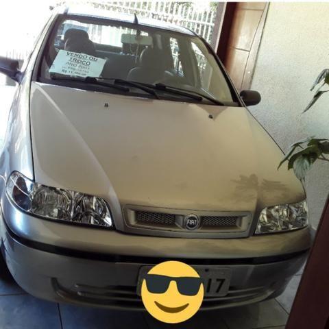 Vendo palio 2001/2001 1.0 flx básico, 4 portas carro muito bom de motor