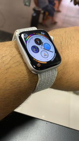 Apple Watch série 4 silver