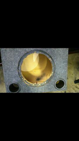 Sub woofer bravox E2k 12 polegada mais mega capacitor - Foto 5