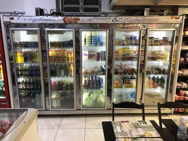 Vendo freezer auto-serviço 5 portas