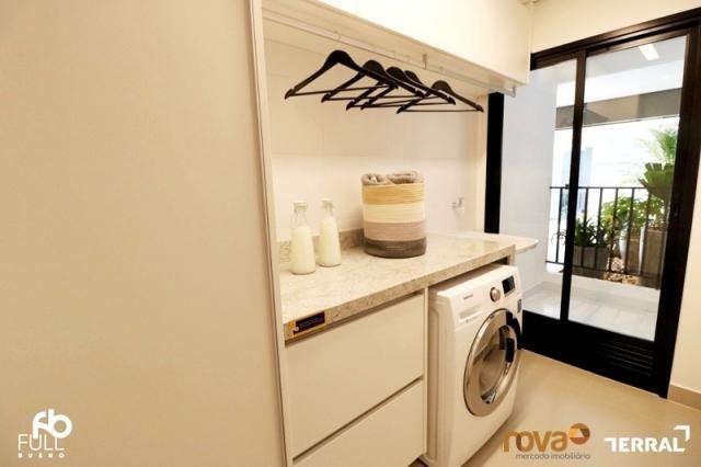 Apartamento à venda com 3 dormitórios em Setor bueno, Goiânia cod:NOV235717 - Foto 7