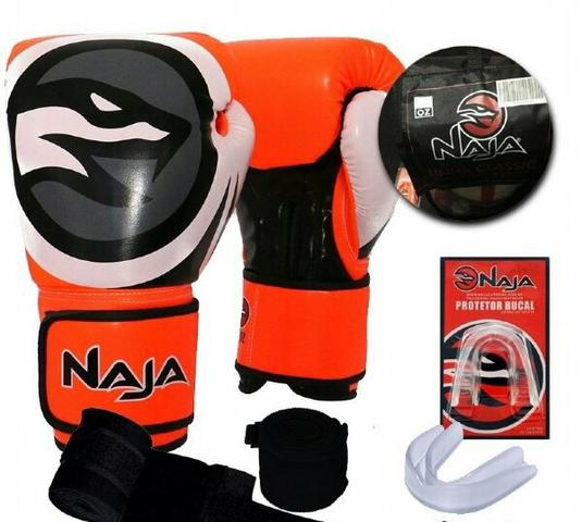 Kit luva naja muay thai