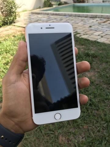 IPhone 7 Plus 32GB Rosê ACEITO CARTÃO
