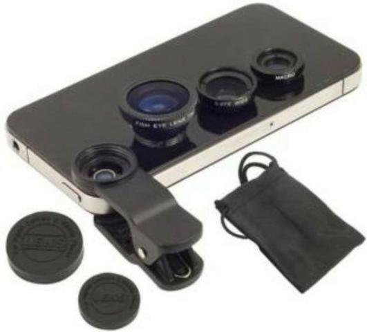 Universal Clip Lens 3 em 1 - Novo - Foto 3