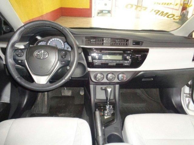 Toyota Corolla 1.8 gli upper 16v flex 4p automático - Foto 15