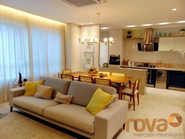 Apartamento à venda com 3 dormitórios em Setor marista, Goiânia cod:NOV235626 - Foto 2