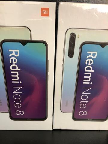 Redmi Not 8 64 gb cor azul