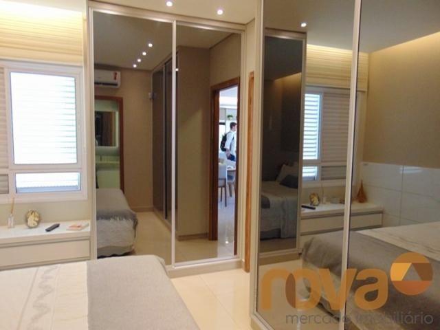 Apartamento à venda com 3 dormitórios em Residencial eldorado, Goiânia cod:NOV235562 - Foto 16