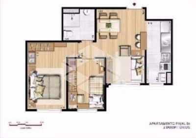 Apartamento à venda com 2 dormitórios em Protásio alves, Porto alegre cod:AP7924 - Foto 8