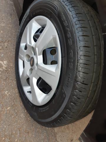 Ônix 1.4 Flex Completo ano 13/14 Completo Entrada 8.700+ 48x Pego Carro Moto Carta Crédito - Foto 5