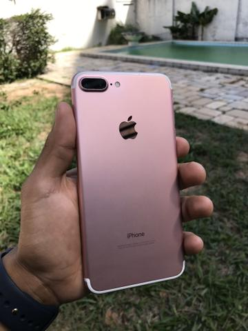 IPhone 7 Plus 32GB Rosê ACEITO CARTÃO - Foto 2