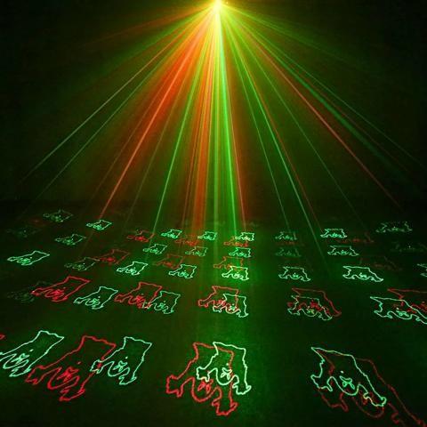 Projetor laser desenhos halloween - Foto 4