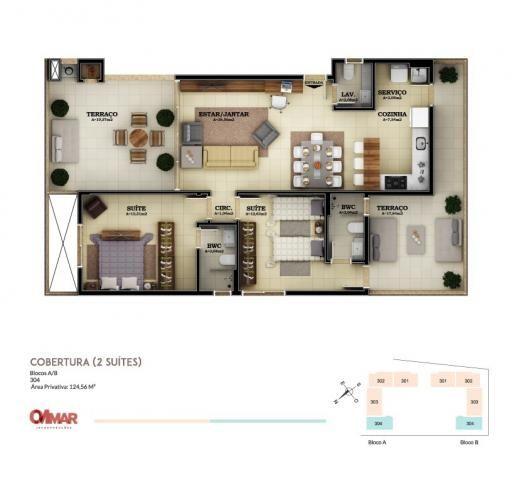 Apartamento à venda com 2 dormitórios em Campeche, Florianópolis cod:2118 - Foto 14