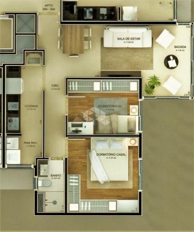 Apartamento à venda com 2 dormitórios em Verona, Bento gonçalves cod:9903195 - Foto 17