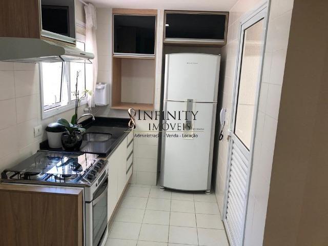 Apartamento 90 m², 2 suítes, sala estendida, varanda gourmet, 1 vaga, Aquárius - Foto 14