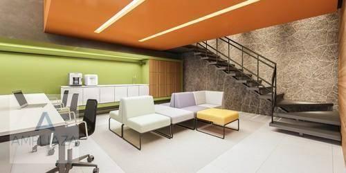 Apartamento com 2 dormitórios à venda, 37 m² por r$ 321.000 - aldeota - fortaleza/ce - Foto 14