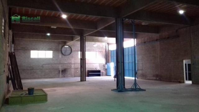 Galpão à venda, 1400 m² por r$ 2.200.000 - jardim tomé - embu das artes/sp - Foto 15