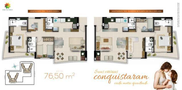 (JAM)TR15253 Apartamento a venda Luc. Cavalcante top 76 m² 3 quartos 2 Suites 2 vagas