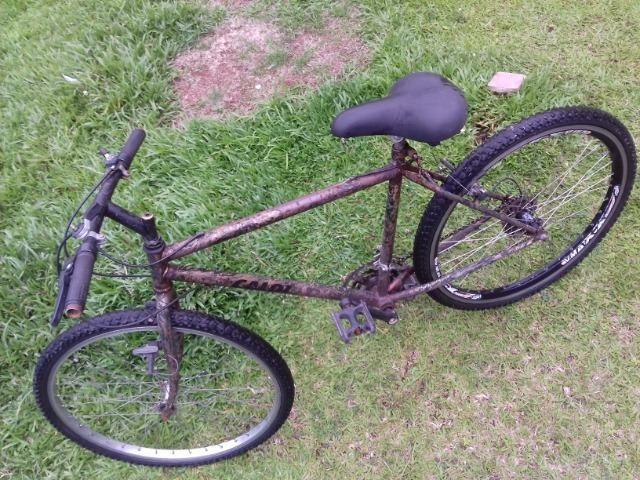 Bicicleta usada andando de boa! 3x sem juros no cartão - Foto 4