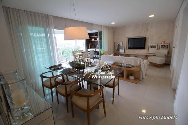 Imperator apartamento com 3 dormitórios à venda, 138 m² por r$ 950.000 - guararapes - fort - Foto 4