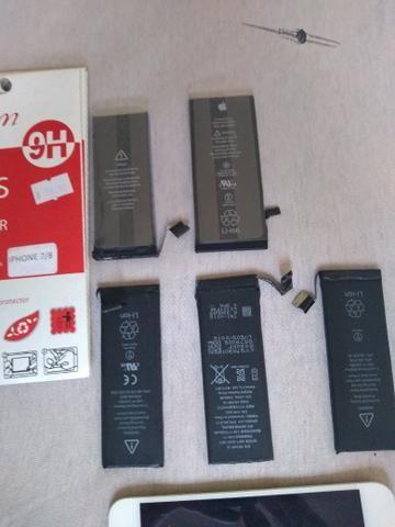 Películas de Vidro de iPhone, Baterias de iPhone, Celurares & Baterias - Foto 4