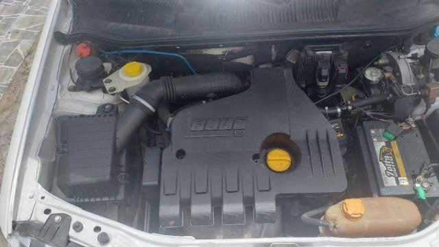 Siena 2007 motor 1.8 HLX a gás e flex completo de tudo - Foto 2