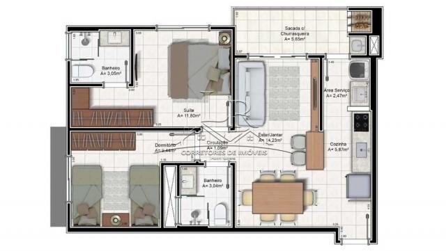 Apartamento à venda com 2 dormitórios em Ingleses do rio vermelho, Florianópolis cod:1675 - Foto 2