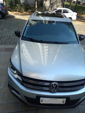 Vw - Volkswagen Tiguan ? 2014- Teto Panorâmico - Xênon-Prata - Foto 6