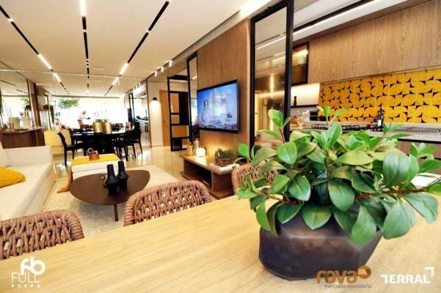 Apartamento à venda com 3 dormitórios em Setor bueno, Goiânia cod:NOV235717 - Foto 2