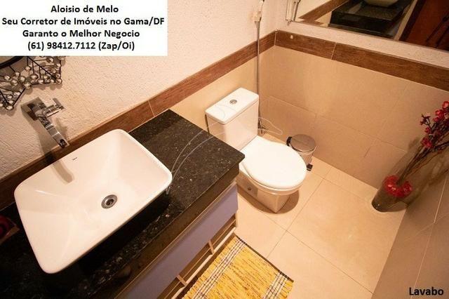 Aloisio Melo Vde: Q. 01 S/Leste! Sobrado, 2 Casas c/3 Quartos, Aceita Financ./FGTS - Foto 10